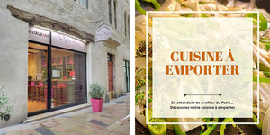 Le Patio Littré à Nîmes propose une nouvelle carte et de la vente à emporter