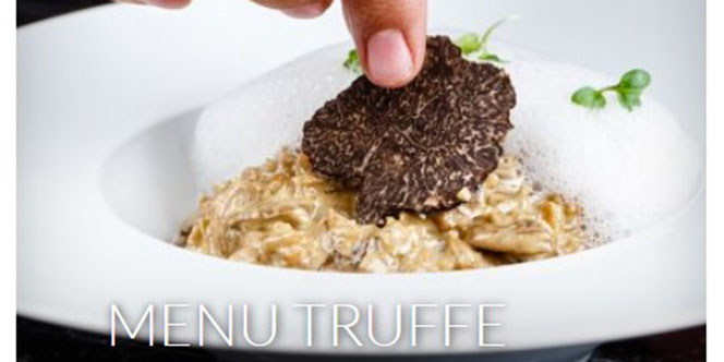 Le restaurant Vatel Nîmes propose un Menu Truffe jusqu'au dimanche 16 février 2020 au restaurant gastronomique.(® site Vatel)