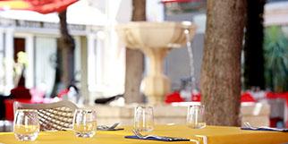 L'Esclafidou Nîmes est un Restaurant avec une cuisine fait maison proposant un mélange de spécialités nimoises et sud-africaines en centre-ville.(® SAAM-fabrice Chort)