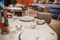 Restaurant Vatel Nîmes gastronomique au sein du complexe Vatel comprenant un hôtel****, un spa, des salles à louer, une brasserie et une école (® vatel)